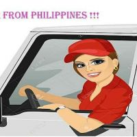 Lady Driver from Philippines