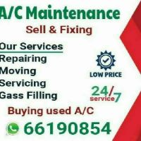 Buying damage a/c.A/c service available