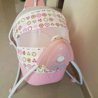 electric swing baby bed