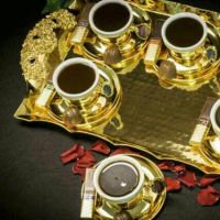 turkish cofee sets and antique good qual