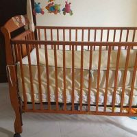 baby bed and medical mattress