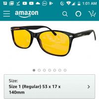 eye protection glass from USA