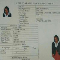 kenyan maid available now in office