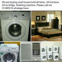 We are buying used house hold all items.