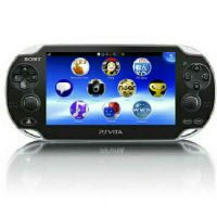 PlayStation Vita With toy, charger and b