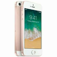 Apple iPhone SE (64GB Gold) with charger