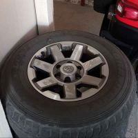 FJ CRUISER 2015 RIMS AND TIRES