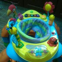 juniors baby walker with play centre