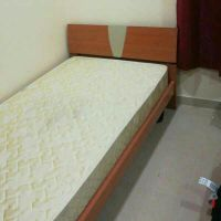bed (single and half) + mattress