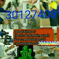 I do all kinds Elictric, AC, plumbing, p