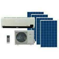 Air condtioner with solar system