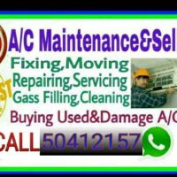 Ac selling servicing buying And fixning