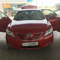 Toyota Camry.Lady Driving