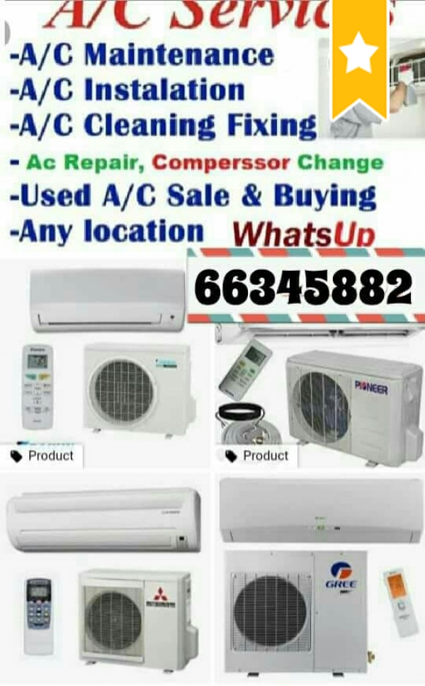 Ac selling & buy, maintenance