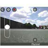 Super Parrot jumping drone with Camera