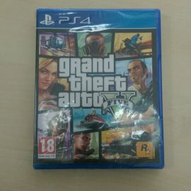 New Sealed GTA 5 for PS 4