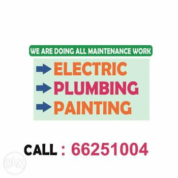 PAINTING ELECTRIC PLUMBING SERVICE.