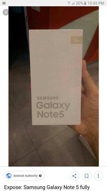 Note 5 + Special 77203388