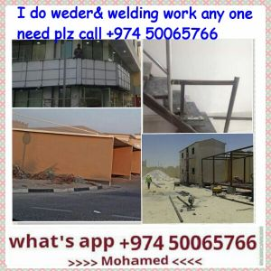 we do all kind of welding works. hadid g