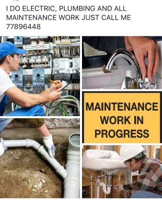 MAINTENANCE WORK
