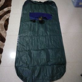 new inflatable mattress with a pillow