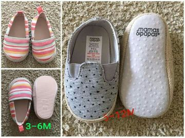 mamas papas and H&M shoe for baby