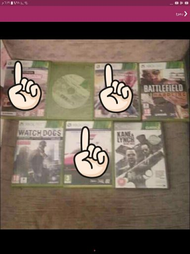 for sale cds Xbox 360