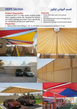 Supply and Install tents