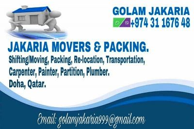 Jakaria movers & packers call: 31167648