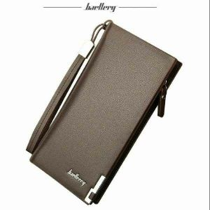 Long Leather Wallet for Men and Women