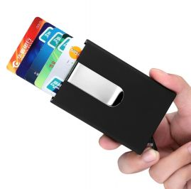 RFID Blocking Leather Card wallet