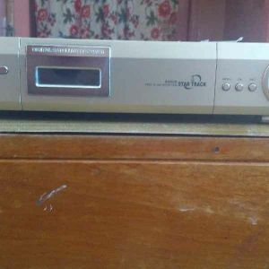Star Track tv receiver with dish