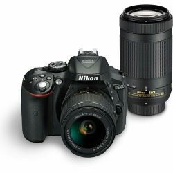 Nikon Dslr D5300 with 18-55 and 70-300mm