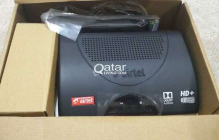 Airtel Receiver for Sale only Qr.250