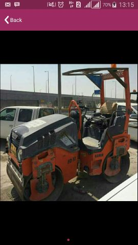 rollers for rent 3,5,10 ton