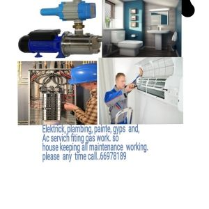 electric. plumber. Ac service  working