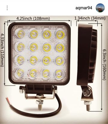 Light LED 48W