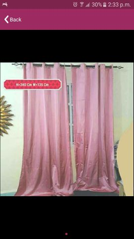 4 Pcs Curtains