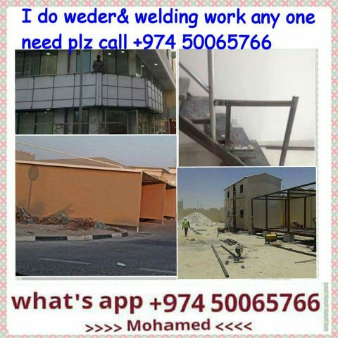 hello sir / madam. we do welding work fo