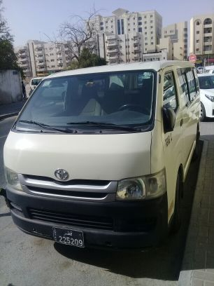 bus 15 seater for rent with draiver