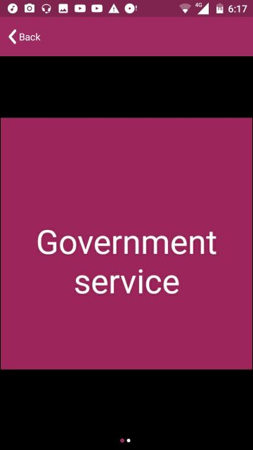 p.r.o or government services