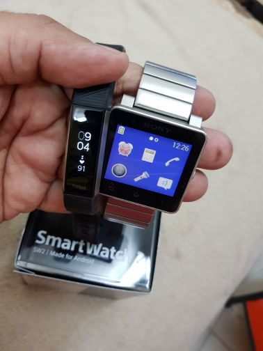 Sony Smart Watch 2 and Fitbit AltaHR