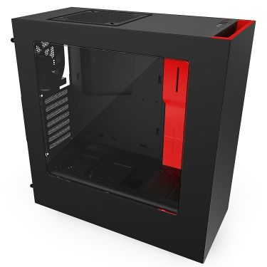 New NZXT S340 Red Case
