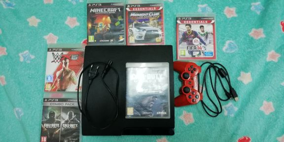 Ps3 with gear