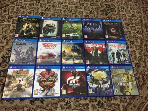 Ps4 games sale