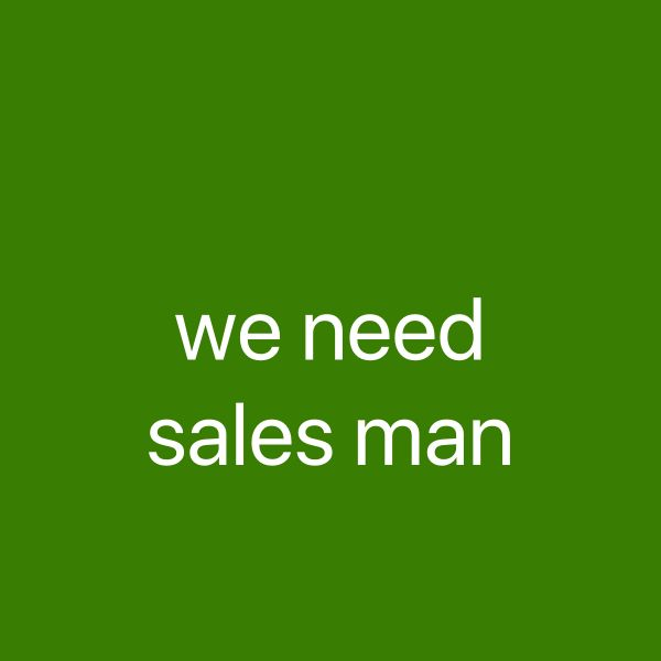 Need driver sales