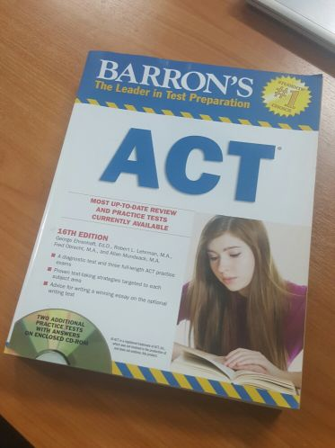 ACT Book for sale