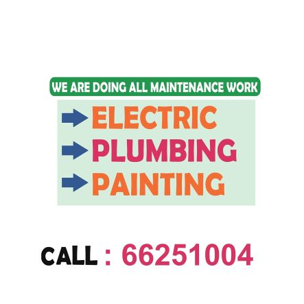 ELECTRIC PLUMBING PAINTING SERVICE.