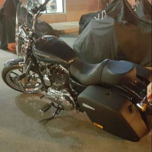 saddle bags for sportster