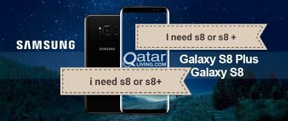 I'm looking for s8 or s8+.